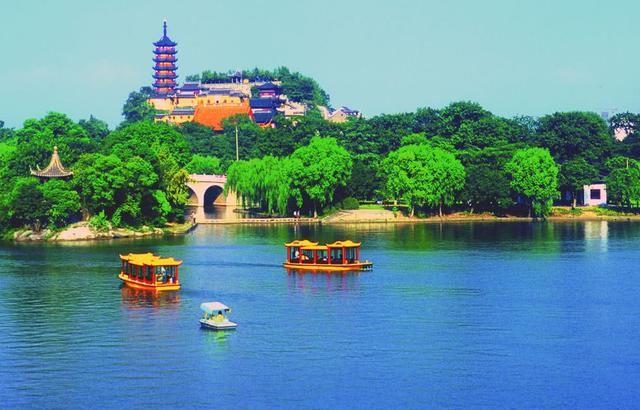镇江三山风景区