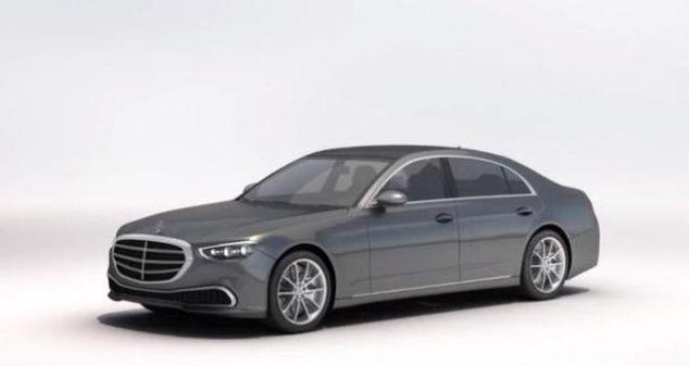 <b>新家族外观设计 新一代奔驰S级假想图曝光</b>