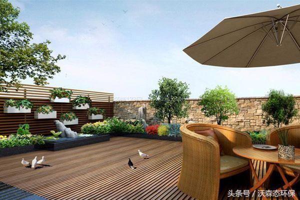 别墅屋顶庭院设计,漂亮堪比空中花园!