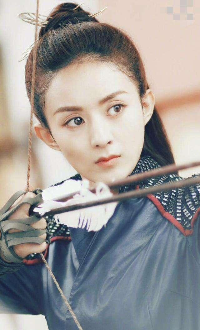 古装王妃,林依晨温婉,赵丽颖在剧中还不是王妃,她美的