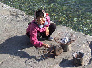 朝鲜普通人家的生活片段