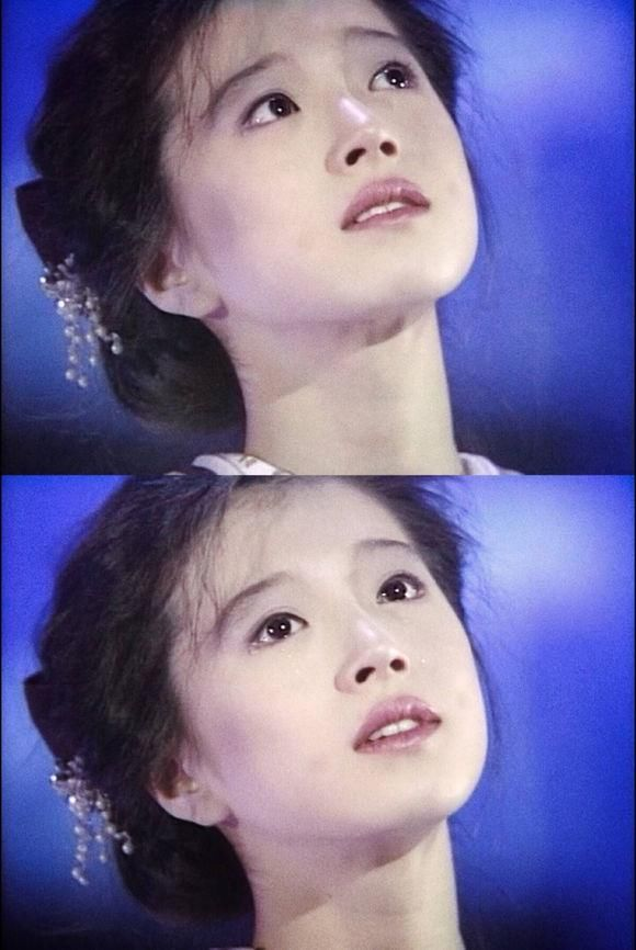 日本最悲情歌姬中森明菜,曾张国荣也称对她抱有幻想!图片