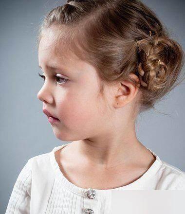 11款女大童发型美丽的美图!发型秀秀如何使用换简易图片