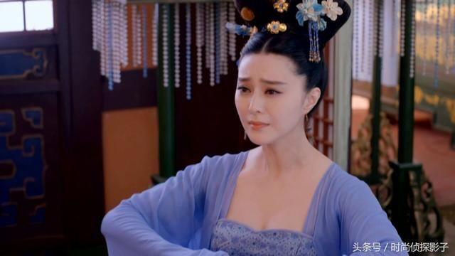 戴珍珠流苏簪的古装美人,邓莎俏丽动人,袁姗姗清冷婉约