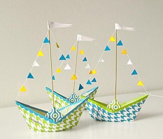 幼儿小帆船折纸大全图解