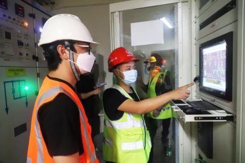 广州地铁八号线北延段全线电通项目作业