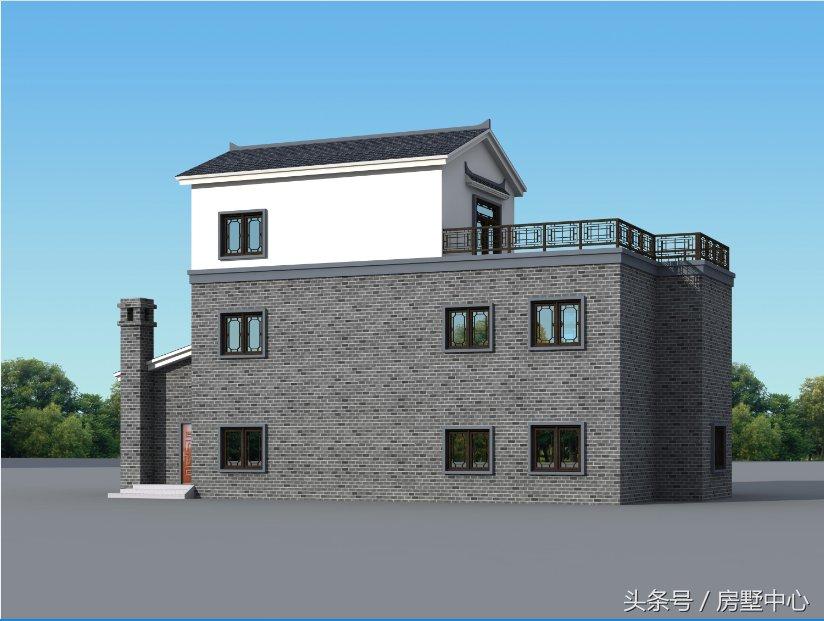青砖房子别墅设计图