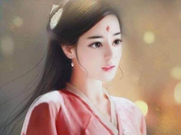 粉丝手绘女星图,郑爽甜美,赵丽颖楚楚动人,唯独她比较