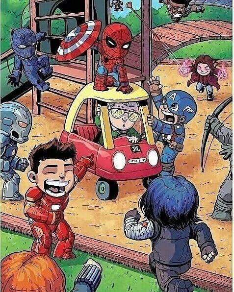 让人哭笑不得的迷你超级英雄