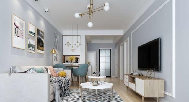 我家68平二居室,北欧装修风格,美翻了!