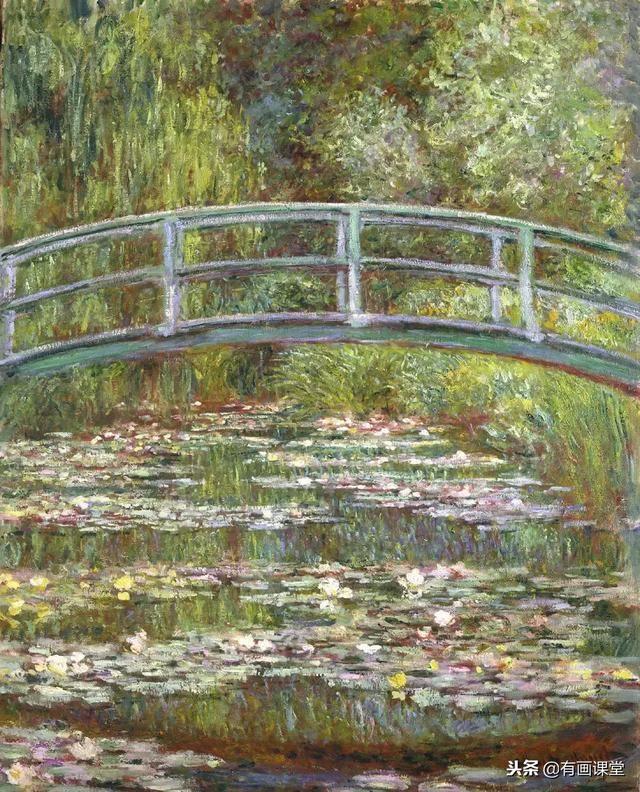 莫奈风景画