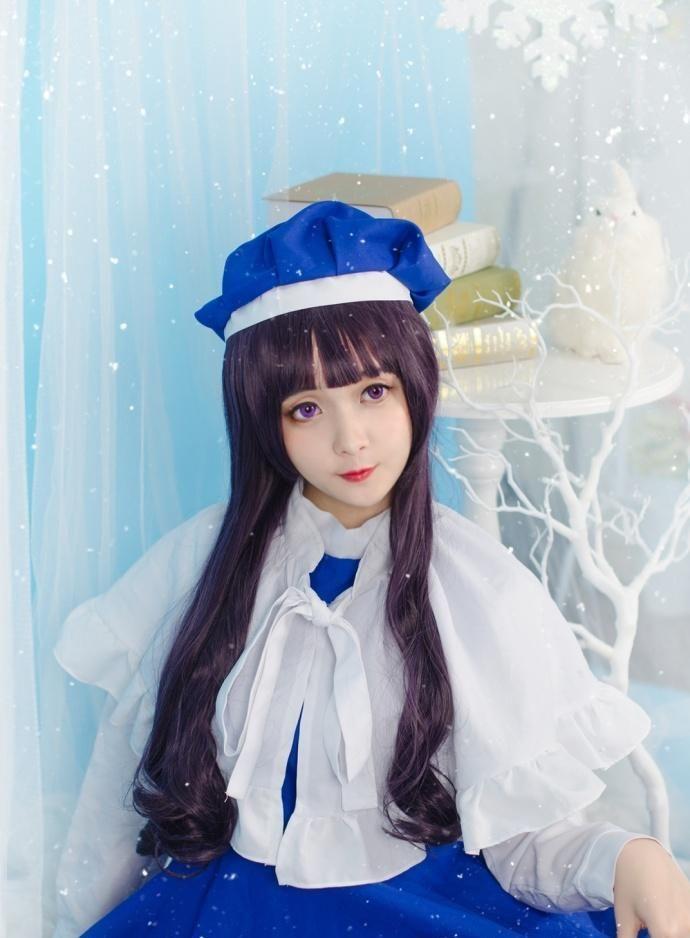 可爱小仙女白色丝袜展现清澈纯真的美插图(4)