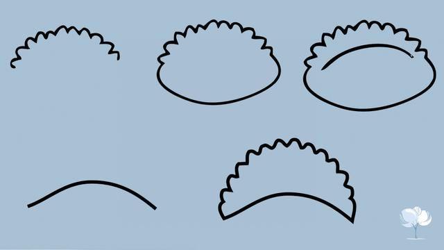 冬至日,来一波饺子简笔画,赶紧学起来吧