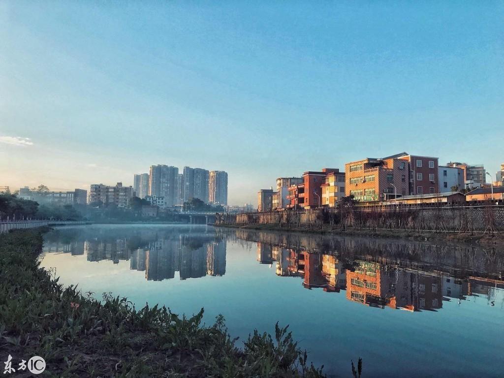 厦门同安镇的清晨风景.(图片来自东方ic)