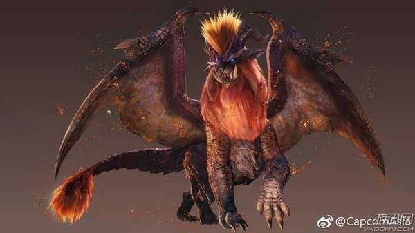 《怪物猎人世界》三大新魔物介绍 炎王龙威风八面!图片
