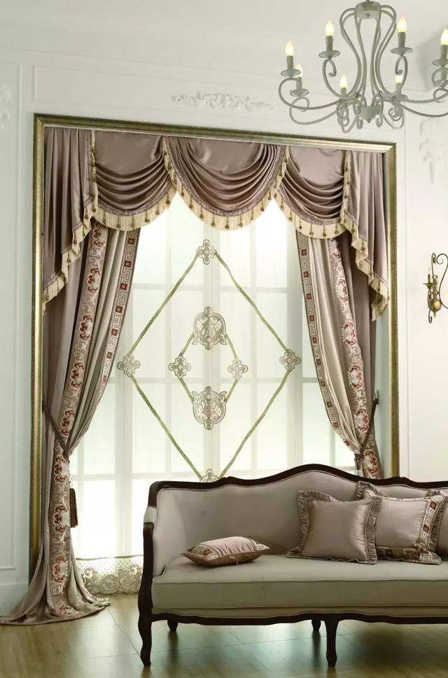 窗帘演绎窗幔,加上不同格v窗帘酒店情致常德哪里有情趣图片