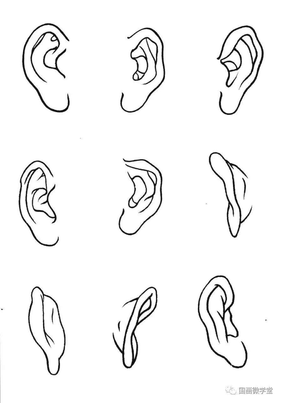 嘴的画法步骤