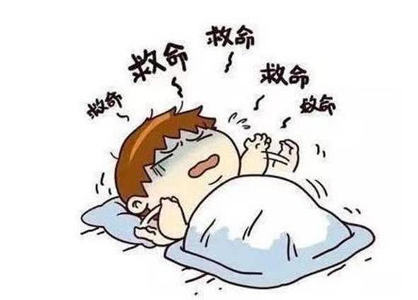 一些人在睡觉的时候经常会感到呼吸比较困难,那可能是因为感冒,呼吸