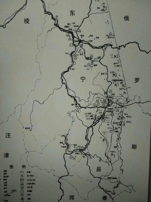 东宁市绥阳地图