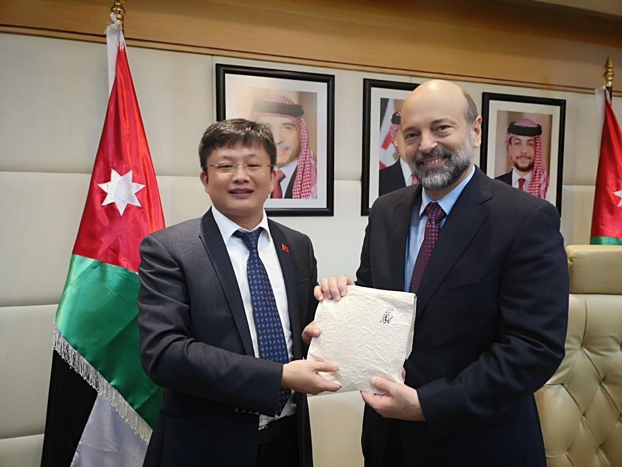 中国-阿拉伯国家青年创业园代表团访问约旦高潮情趣合組垫图片
