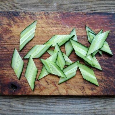 好吃不过家常菜--饺子肉#硬核木须制作人#猪肉苤蓝菜谱做法图片