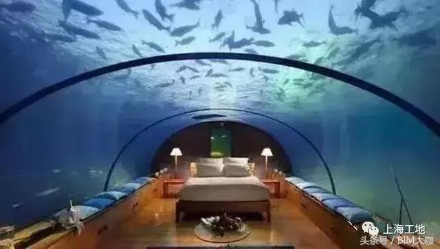 上海世茂深坑酒店无疑是全球独一无二的奇特工程 水族资讯 南昌水族馆第7张