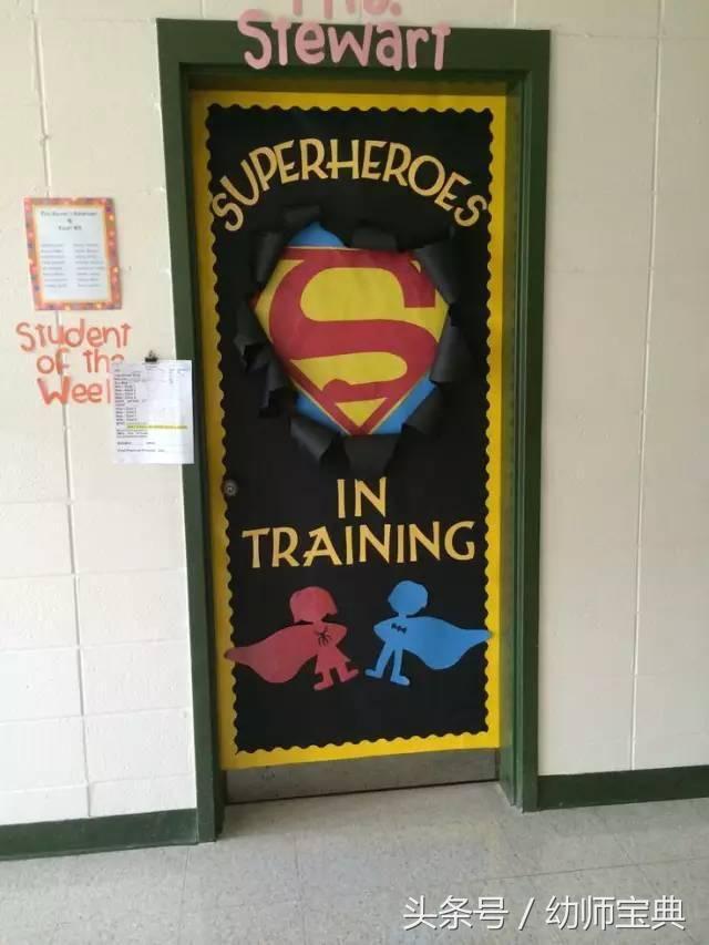 【环创】幼儿园春季【教室门】环创装饰