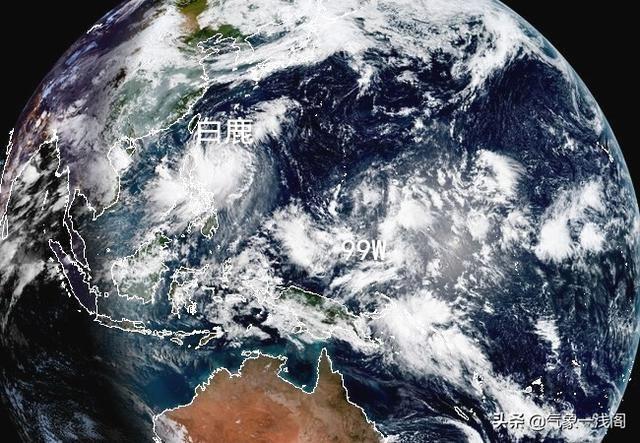 11号白鹿分歧大,12号台风或推迟,可能影响海南,新胚胎98L诞生