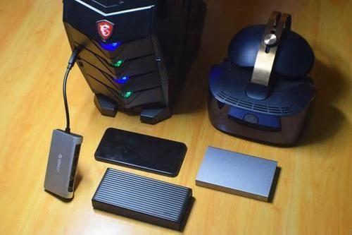 千兆网卡,硬盘读写不掉速,orico type-c扩展坞体验点评