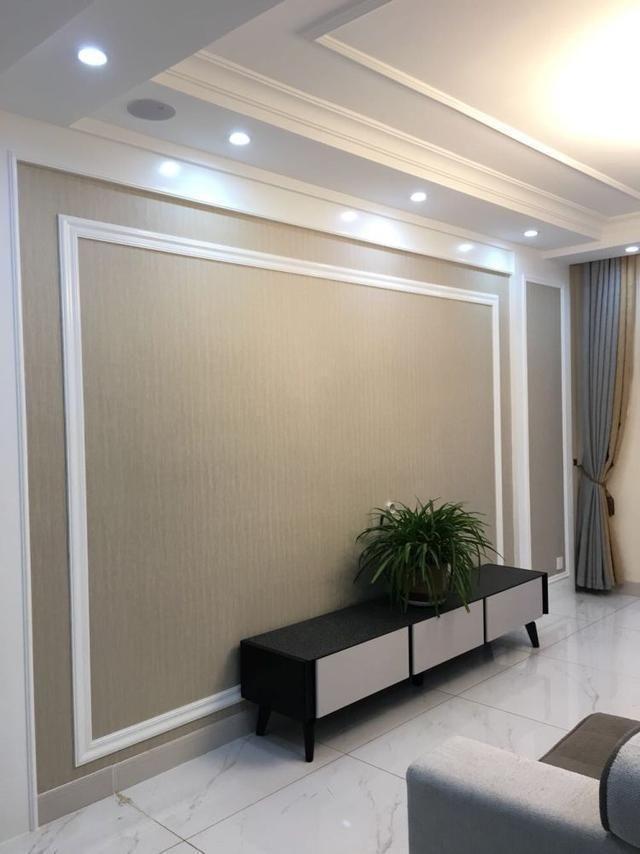50款漂亮的电视墙 简单大方石膏线电视墙