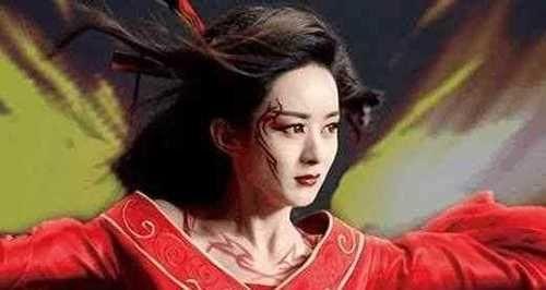 娱乐 正文  赵丽颖在花千骨中的外型.
