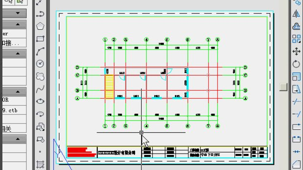 在cad布局中插入图框eplan中导入cad图图片
