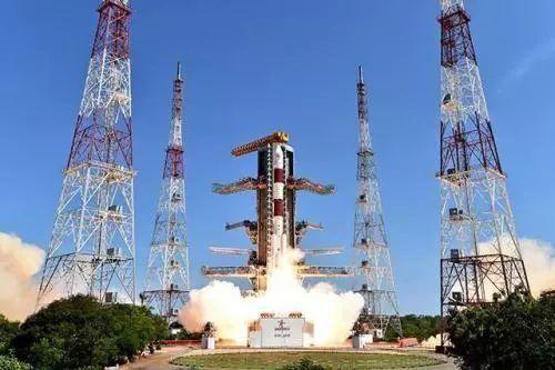 印度空间研究组织说,该组织从位于印东南部的斯里赫里戈达岛萨蒂什