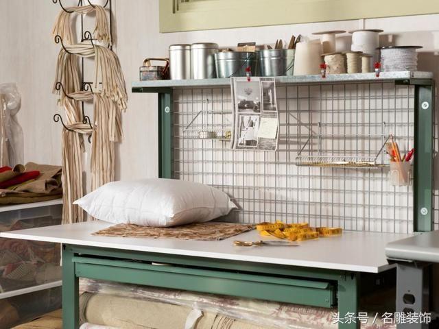 国外创意家居,怎样把车库打造成缝纫房?效果太夸张了!