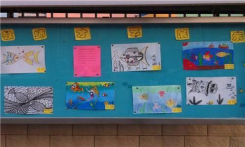 幼儿园橱窗环境设计,幼儿园宣传栏布局理念