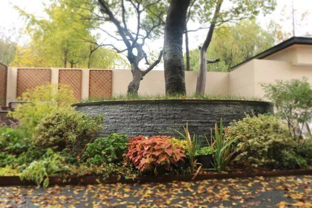 家庭花池设计图