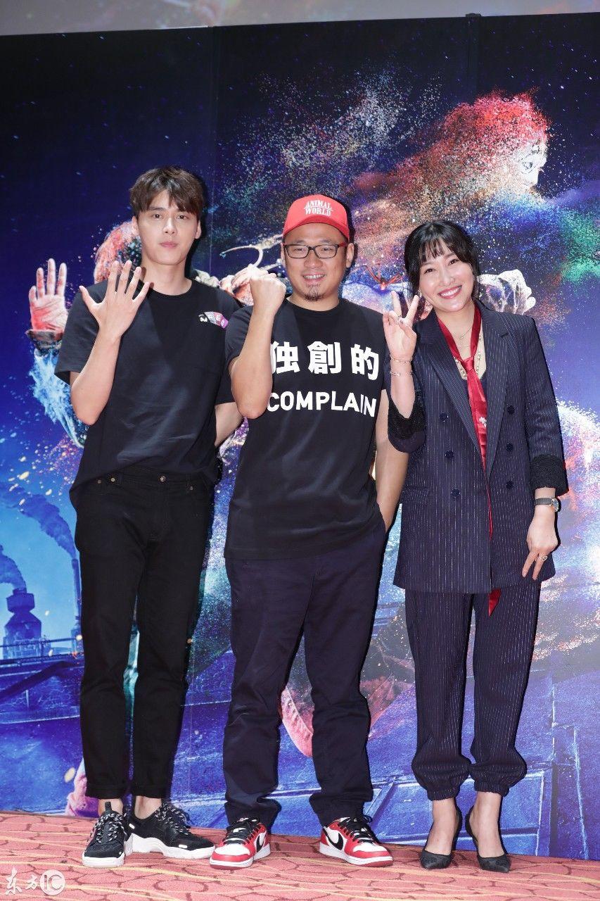 李易峰主演《动物世界》记者会现场,网友纷纷表示被其