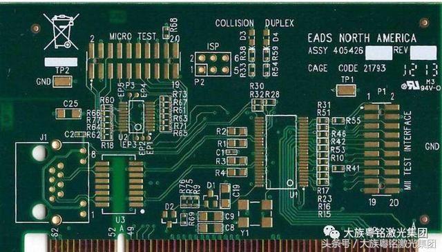 pcb专用激光打标机:电路板行业的闪光点
