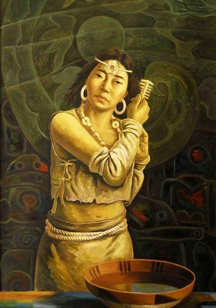 """古代最出名的丑女,当首推嫫母,黄帝授以""""方相氏""""官位,利用她的相貌来驱邪."""