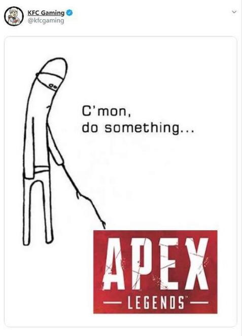 《Apex英雄》因为凉得太快开发团队和网友网上互怼