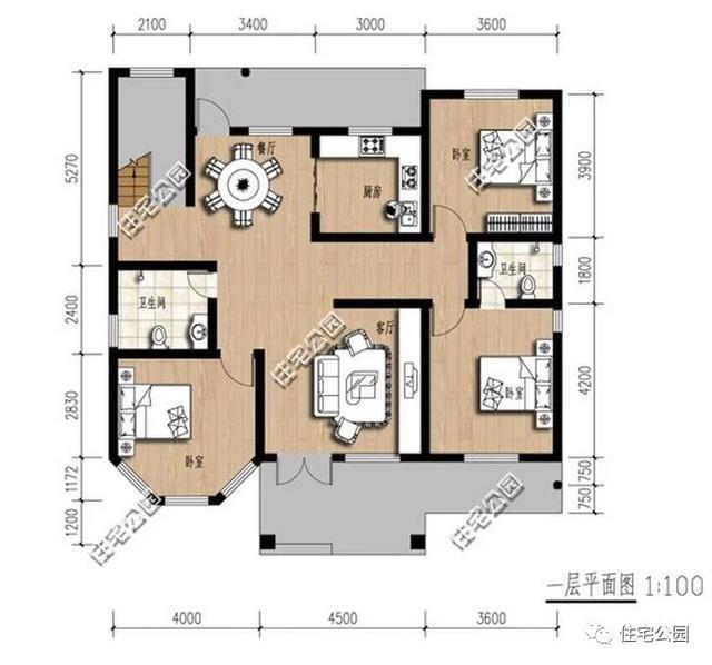 新农村别墅12x14米,两层30万建好,比效果图都美!
