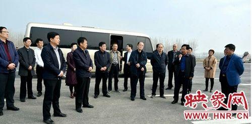 [热文]市人大常委会视察组到新蔡县视察
