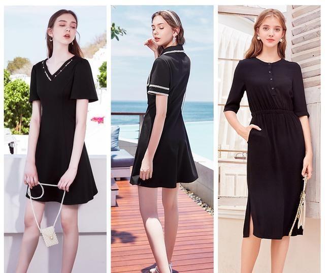 衣柜里必须有条小黑裙,这些都是经典款,一条就能让你美一辈子