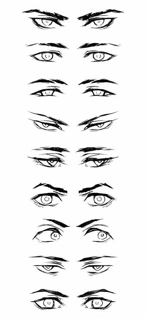 漫画人物的眼睛,应该如何画?图片
