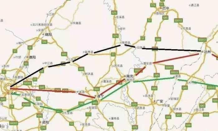 成都至重庆正在规划一条高铁, 途经4市, 有你家乡吗