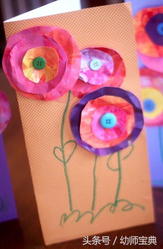 幼儿园母亲节贺卡,最新款式,小中大班都有!