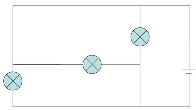 线路较长,较为复杂的电路图,我们还可以 用拆除法和节点法来进行分析.