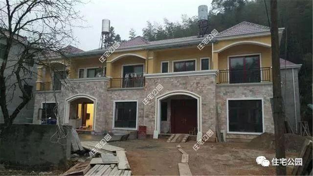 实拍5套农村自建别墅,50万建现代,100万建欧式,中式才