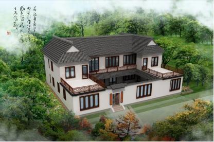20款带院子的农村别墅,地大地小都能建,农村生活就是好!