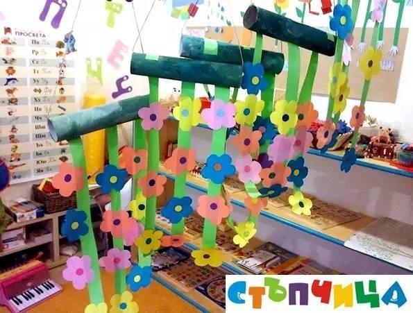 幼儿园吊饰创意手工制作,整个课室都不一样了!
